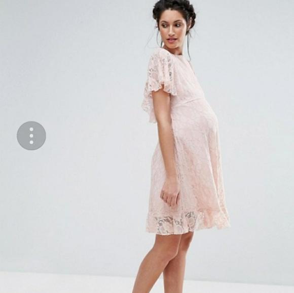 b472bd7d0215a Queen Bee Maternity Dresses | Asos Queen B Lace Maternity Dress ...